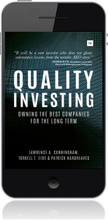 Cover of Quality Investing on Mobile by Torkell T. Eide andLawrence A. Cunningham andPatrick Hargreaves