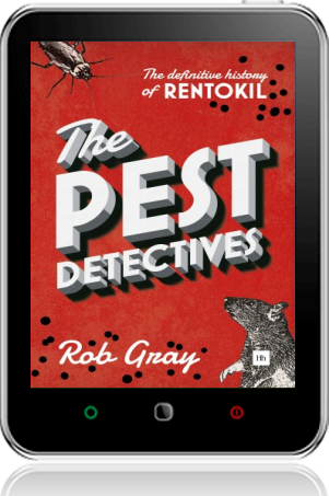 Cover of The Pest Detectives on Tablet by Rob Gray