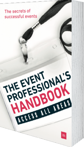 Cover of The Event Professional's Handbook by Exposure Communications Ltd