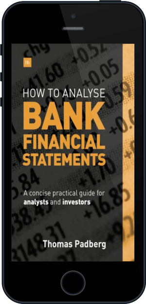 Cover of How to Analyse Bank Financial Statements on Mobile by Thomas Padberg