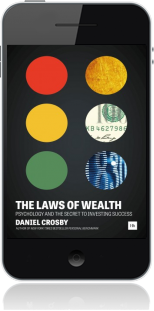 Cover of The Laws of Wealth on Mobile by Daniel Crosby