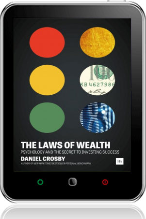 Cover of The Laws of Wealth on Tablet by Daniel Crosby