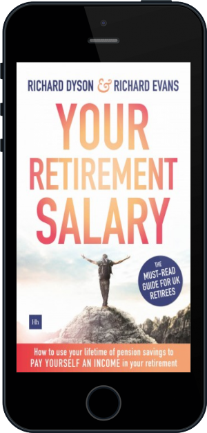 Cover of Your Retirement Salary on Mobile by Richard Evans and Richard Dyson