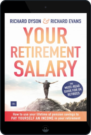 Cover of Your Retirement Salary on Tablet by Richard Evans and Richard Dyson