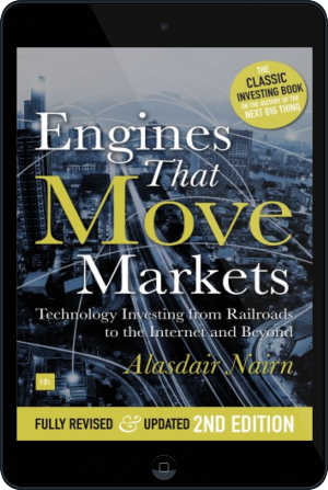 Cover of Engines That Move Markets on Tablet by Alasdair Nairn