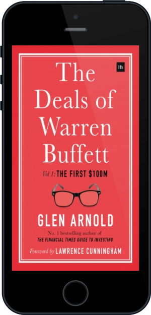 Cover of The Deals of Warren Buffett on Mobile by Glen Arnold