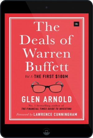 Cover of The Deals of Warren Buffett on Tablet by Glen Arnold