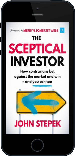 Cover of The Sceptical Investor on Mobile by John Stepek