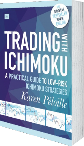 Cover of Trading with Ichimoku by Karen Péloille