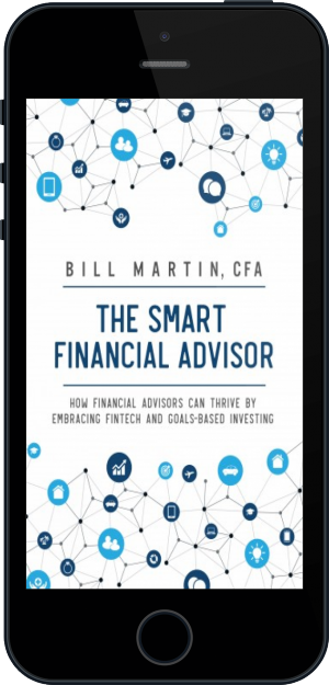Cover of The Smart Financial Advisor on Mobile by Bill Martin CFA