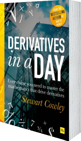 Cover of Cowley on Derivatives by Stewart Cowley