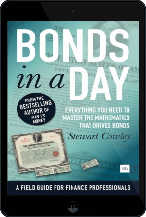 Cover of Bonds in a Day on Tablet by Stewart Cowley