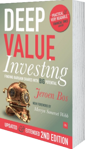 Cover of Deep Value Investing by Jeroen Bos