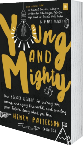 Cover of Young and Mighty (Paperback) by Henry Patterson