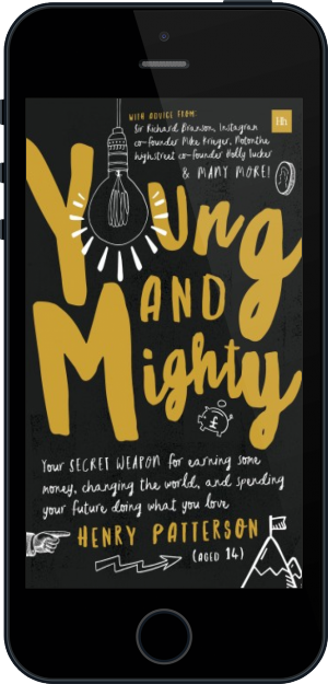 Cover of Young and Mighty (Mobile Phone)