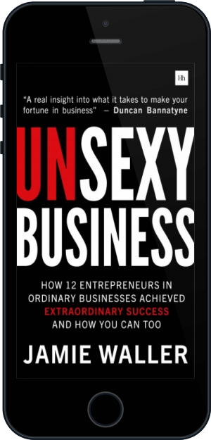 Cover of Unsexy Business on Mobile by Jamie Waller