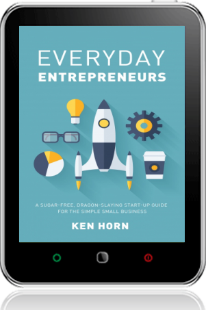 Cover of Everyday Entrepreneurs on Tablet by Ken Horn