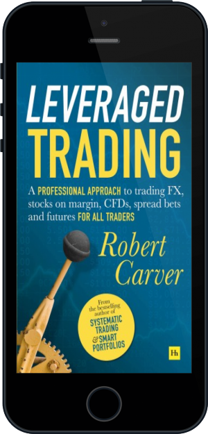 Cover of Leveraged Trading on Mobile by Robert Carver
