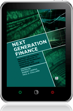 Cover of Next Generation Finance on Tablet by Paul D. Stallard andRobert Lempka