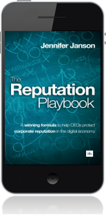 Cover of The Reputation Playbook on Mobile by Jennifer Janson