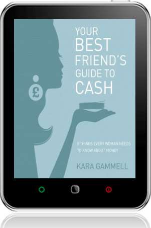Cover of Your Best Friend's Guide to Cash on Tablet by Kara Gammell