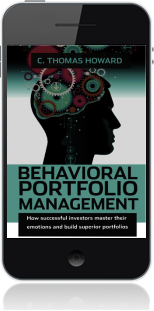 Cover of Behavioral Portfolio Management on Mobile by C. Thomas Howard