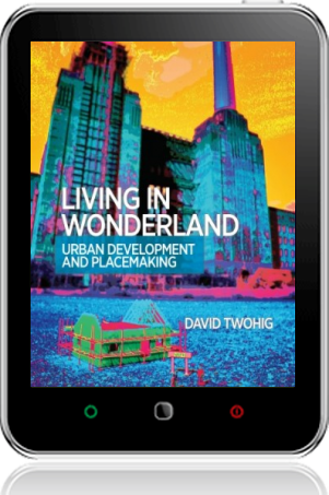 Cover of Living in Wonderland on Tablet by David Twohig