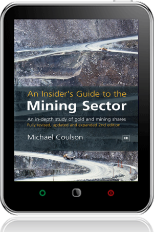 Cover of An Insider's Guide to the Mining Sector on Tablet by Michael Coulson