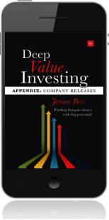 Cover of Deep Value Investing Appendix on Mobile by Jeroen Bos