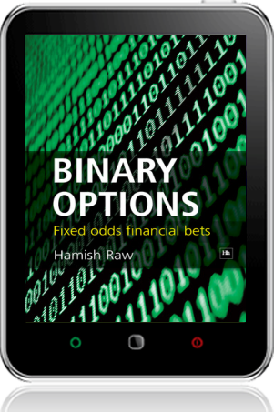 Cover of Binary Options on Tablet by Hamish Raw