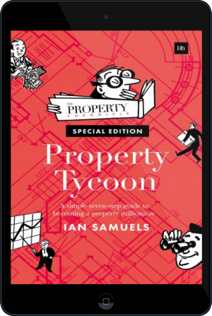 Cover of Property Tycoon on Tablet by Ian Samuels