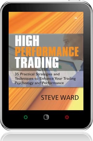 Cover of High Performance Trading on Tablet by Steve Ward