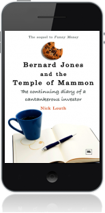 Cover of Bernard Jones and the Temple of Mammon on Mobile by Nick Louth