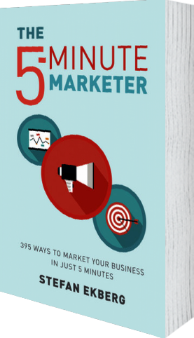 Cover of The 5-Minute Marketer (Paperback) by Stefan Ekberg