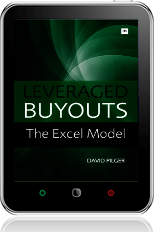 Cover of Leveraged Buyouts Excel Model on Tablet by David Pilger