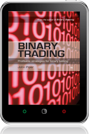 Cover of Binary Trading on Tablet by John Piper
