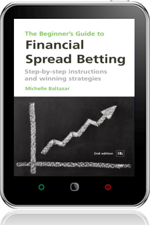 Cover of The Beginner's Guide to Financial Spread Betting on Tablet by Michelle Baltazar