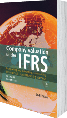 Cover of Company valuation under IFRS (Hardback) by Nick Antill andKenneth Lee
