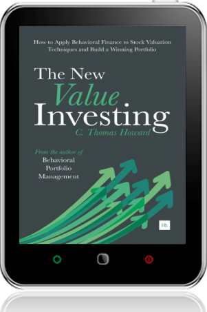 Cover of The New Value Investing on Tablet by C. Thomas Howard