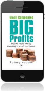 Cover of Small Companies, Big Profits on Mobile by Rodney Hobson