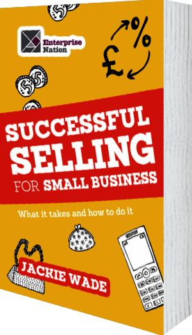 Cover of Successful Selling for Small Business by Jackie Wade