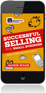 Cover of Successful Selling for Small Business on Mobile by Jackie Wade