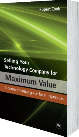 Cover of Selling Your Technology Company for Maximum Value (Paperback) by Rupert Cook